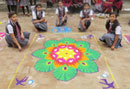 Rangoli Competition 2016